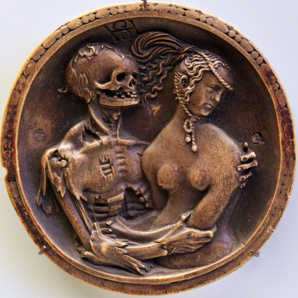 Death and the Maiden by Hans Schwarz [GFDL (http://www.gnu.org/copyleft/fdl.html) or CC BY 3.0 (http://creativecommons.org/licenses/by/3.0)], via Wikimedia Commons.