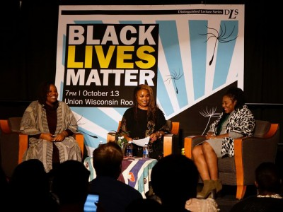 Black Lives Matter Leaders Speak at UWM
