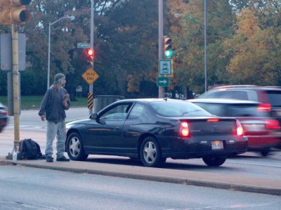 City Outlaws Panhandling on Medians, Ramps