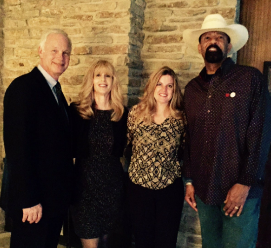 Senator Johnson and Sheriff Clarke campaigning together on October 13, 2016. Photo courtesy of the Democratic Party of Wisconsin.