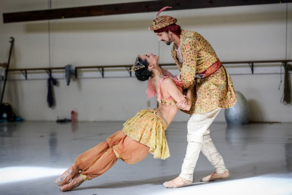 Marize Fumero and Davit Hovhannisyan. Photo by Nathaniel Davauer.