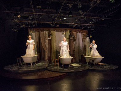 Theater: 'Drowning Girls' Is Dry-Eyed Drama