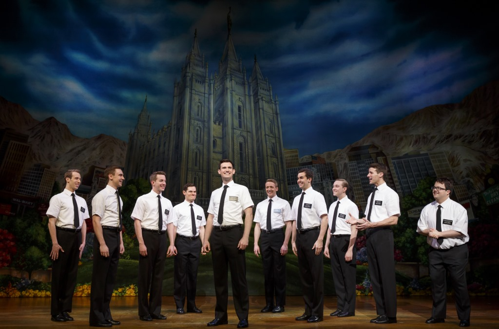 TheBook of Mormon Company - The Book of Mormon (c). Photo by Joan Marcus 2016.