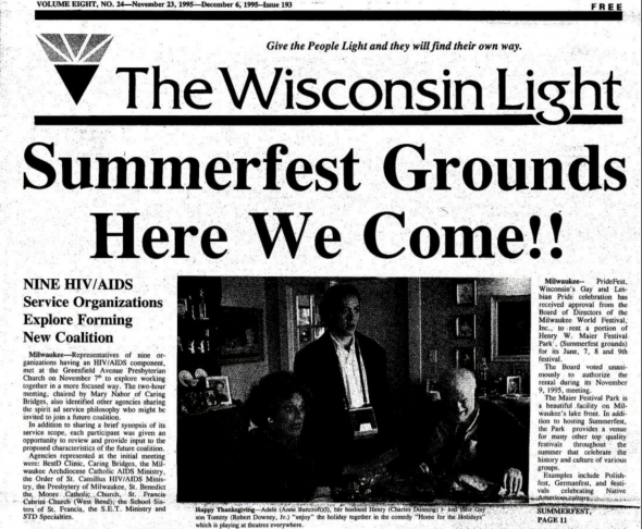 The Wisconsin Light,1995.