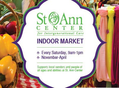 Chill Out All Winter at St. Ann Center's Indoor Market