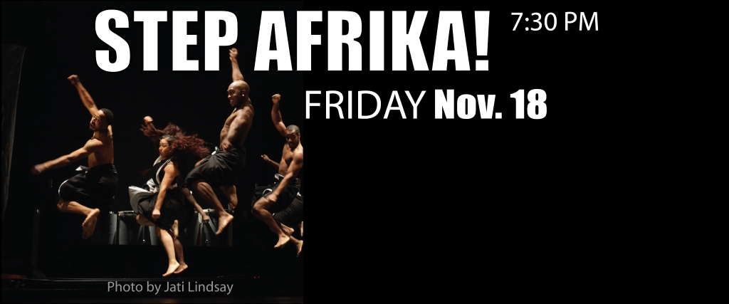 South Milwaukee Performing Arts Center Presents Step Afrika!