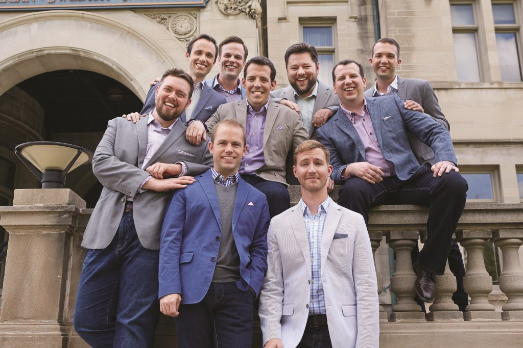 Cantus. Photo courtesy of the South Milwaukee Performing Arts Center.