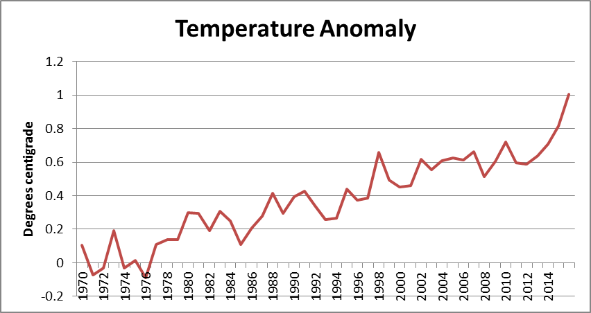Temperature Anomaly.