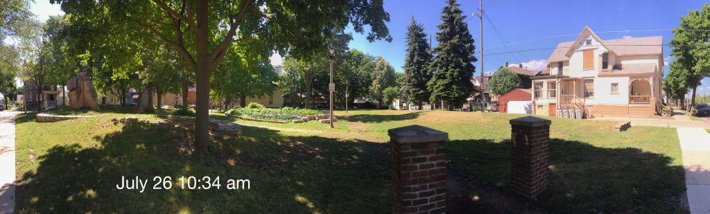 Paliafito Park July 26 at 10.34 a.m. Photo by Tom Bamberger.