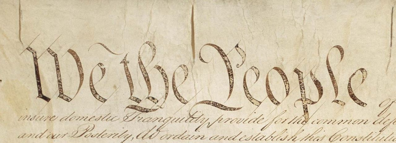"Say ""No"" to Constitutional Convention"
