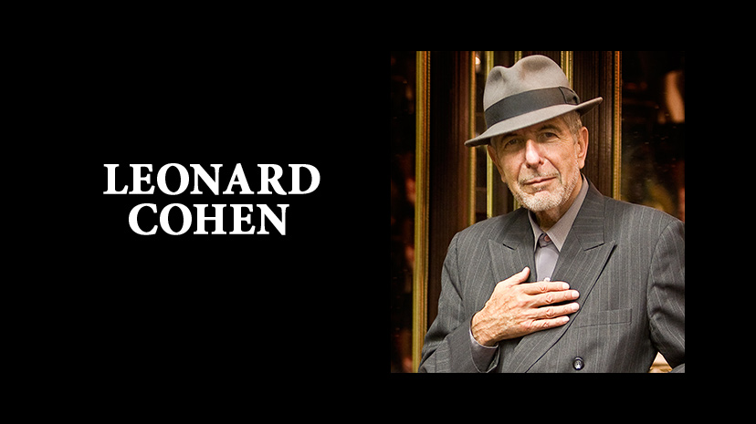 Leonard Cohen. Photo from Facebook.