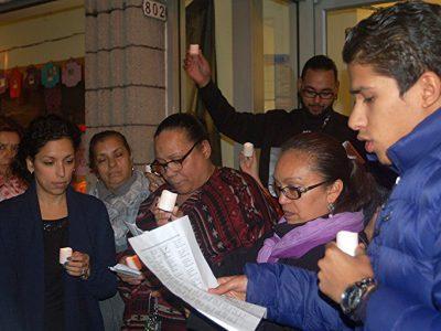 Vigil Supports Domestic Violence Victims