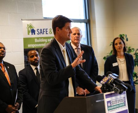 Milwaukee County District Attorney John Chisholm says the community is better off when residents help solve problems. Photo by Allison Steines.