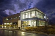 The 25,000-square-foot Innovation Accelerator building brings researchers together with industry partners and startups to encourage academic research with commercial potential. Photo courtesy of UWM.