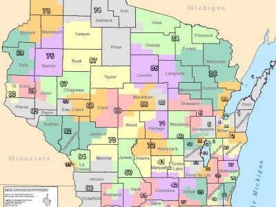 GOP Legislative Districts Heavily White