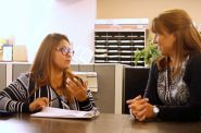 Leadership: Andi Elliott on Community Advocates. Photo courtesy of NNS.