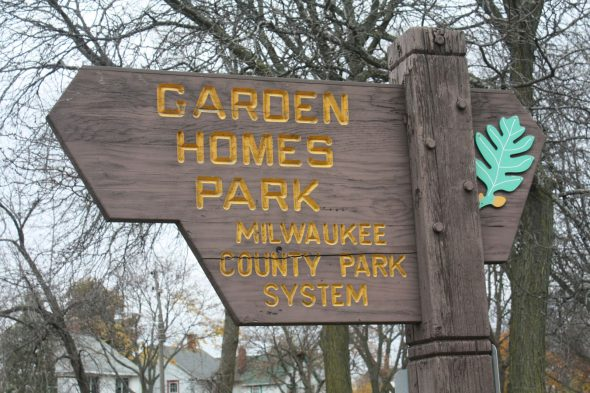 Garden Homes Park. Photo by Carl Baehr.