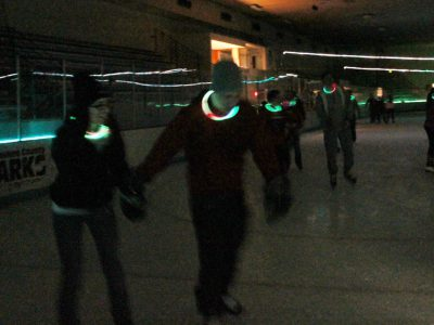 Glow Skate Returns to Wilson Ice Arena