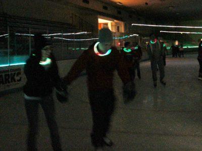 Glow Skate Returns to Wilson Ice Arena, Nov. 24, Dec. 30