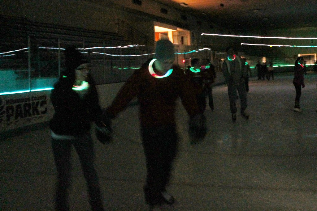 Glow Skate Returns to Wilson Ice Arena, Nov. 24, Dec. 30