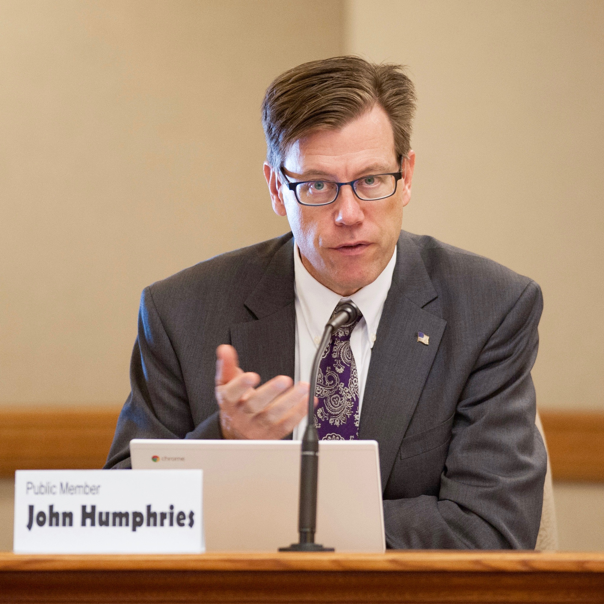 Humphries Proposes New Program Pairing Students with Regional Businesse