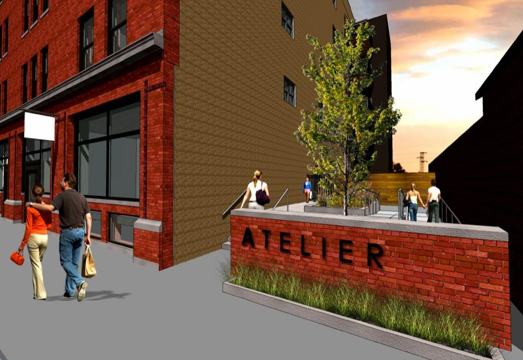Atelier Rendering. Rendering by Engberg Anderson Architects