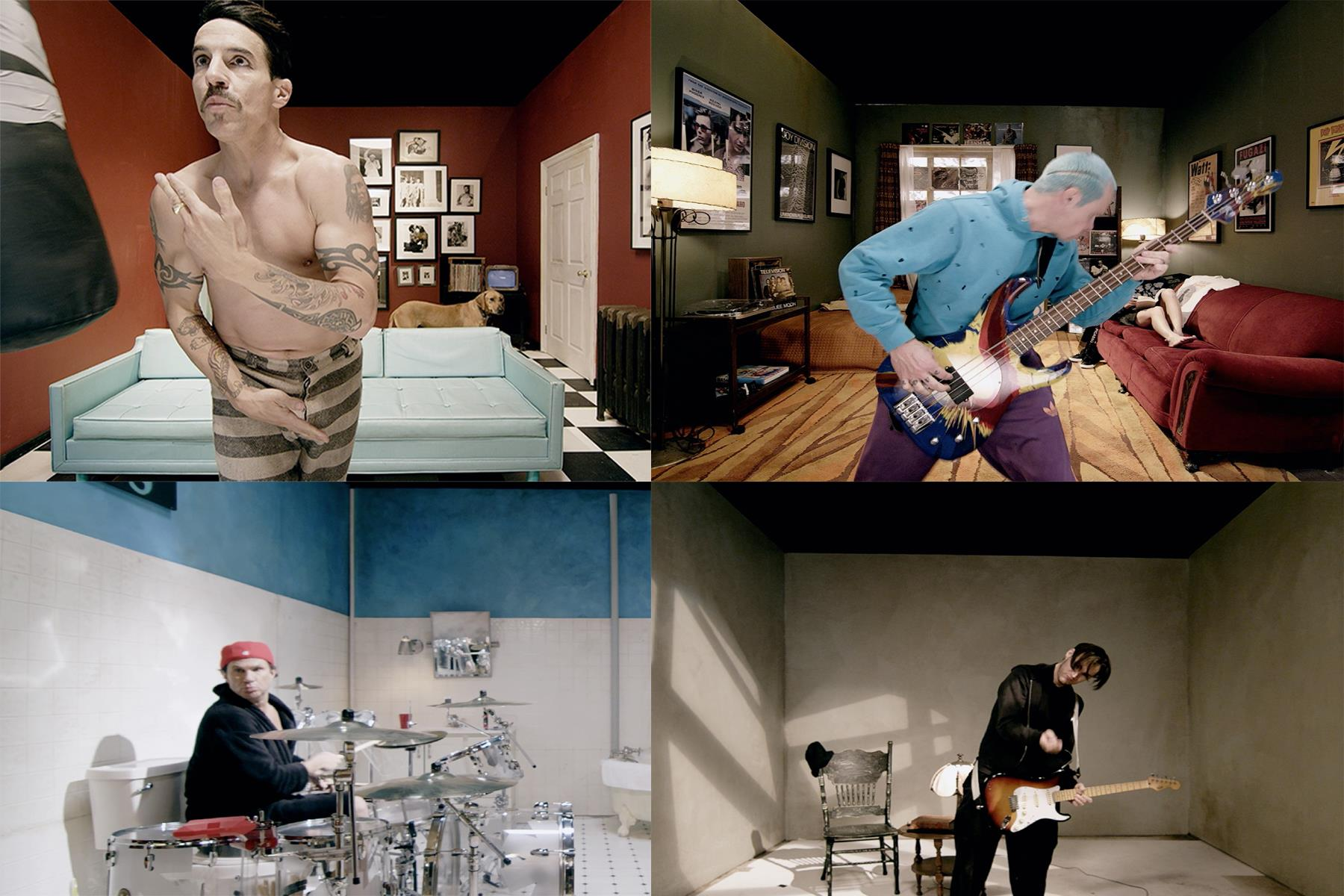 Red Hot Chili Peppers. Photo from Facebook.