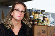 Sherrie Tussler. Photo from Hunger Task Force.