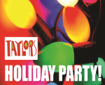 Taylor's Holiday Party Ad