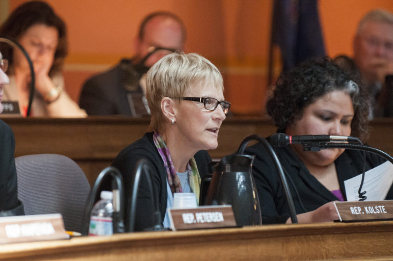 """Prices don't occur in a vacuum,"" said Rep. Debra Kolste, D-Janesville. ""These are taxpayer dollars that are going to pay for these drugs, and it's not a never-ending source of revenue."" Photo courtesy of the office of Debra Kolste."