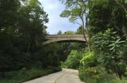 Lake Park Arch Bridge. Photo by Dave Reid.