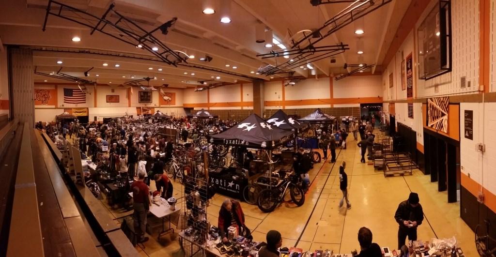 Bike Bazaar. Photo courtesy of the Wisconsin Bike Fed.