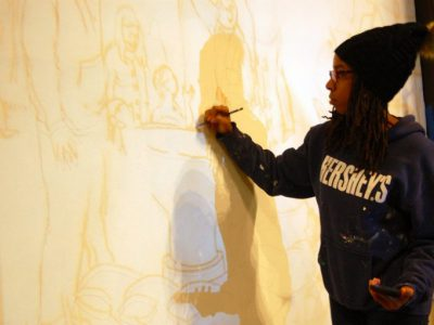 Art: Mural Artist Seeks to Tell Stories
