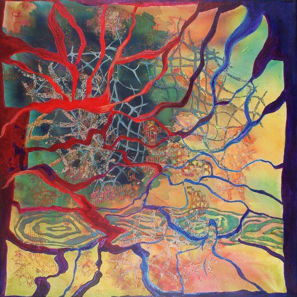 Autumns Grip By Patty Aker.