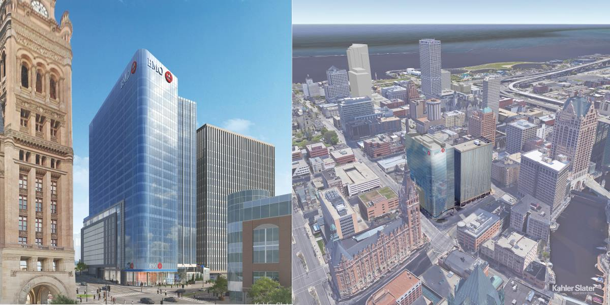 Eyes On Milwaukee Bmo Harris To Build New High Rise 187 Urban Milwaukee