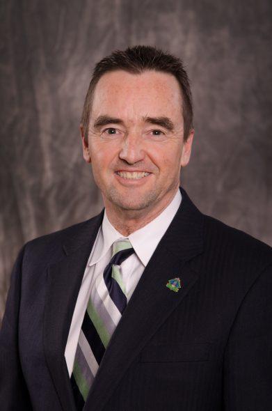 Jim Schmitt. Photo from the City of Green Bay.