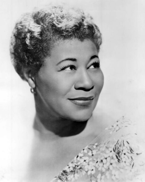 Ella Fitzgerald. Photo is in the Public Domain.