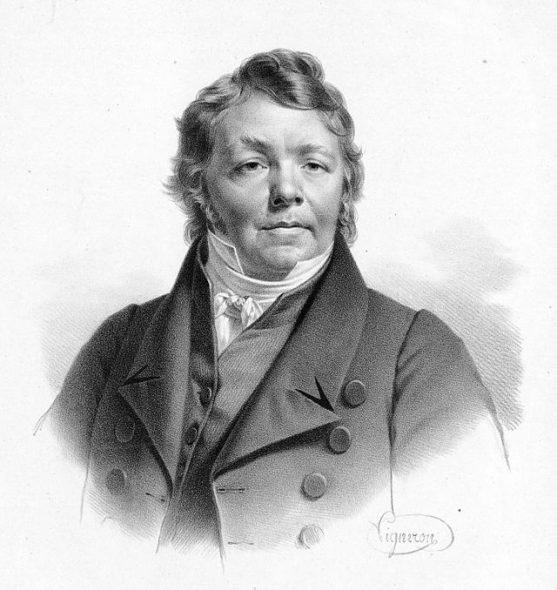 Composer Johan Nepomuk Hummel - Portrait by Joseph Karl Stieler, 1820