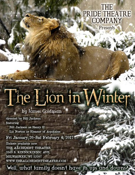 The Pride Theatre Company presents THE LION IN WINTER by James Goldman