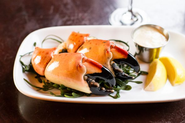 Stone Crab. Photo courtesy of Mason Street Grille.