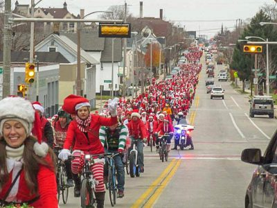 Bike Czar: Santa Rampage A Huge Success