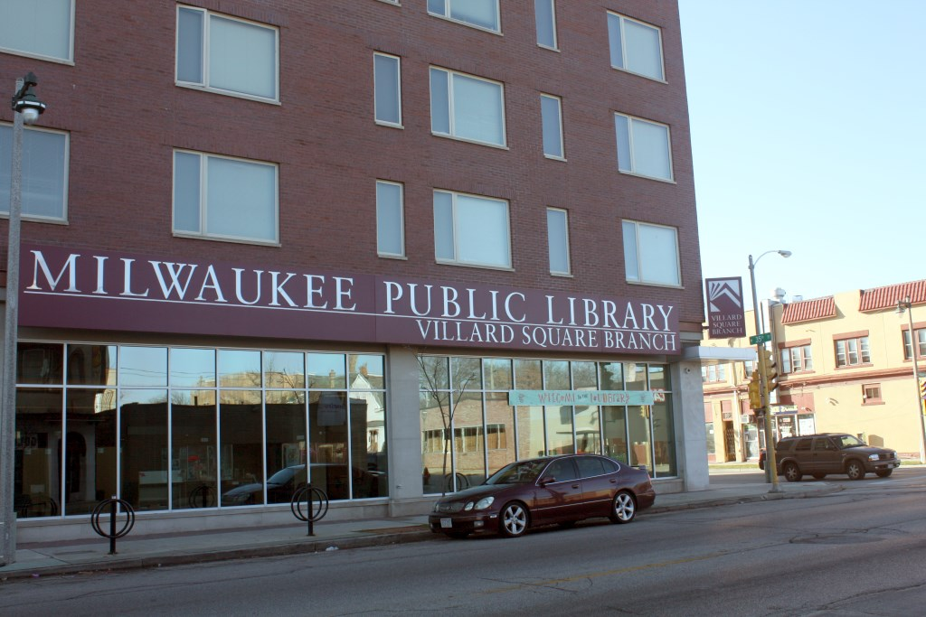 Milwaukee Public Library Villard Square Branch. Photo by Carl Baehr.