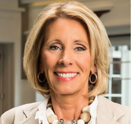 Betsy DeVos. Photo from the Dick & Betsy DeVos Family Foundation.
