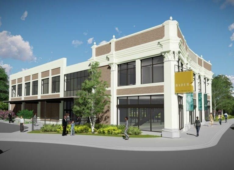 Rendering of Bader Philanthropies HG. Photo courtesy of Uihlein Wilson Architects.