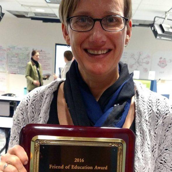 Heather DuBois Bourenane. Photo courtesy of the Wisconsin Public Education Network.