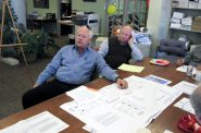 Peter Renner at theHistoric Third Ward Architectural Review Board meeting. Photo by Michael Horne.