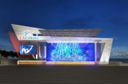 New U.S. Cellular Connection Stage Rendering. Rendering by Eppstein Uhen Architects.