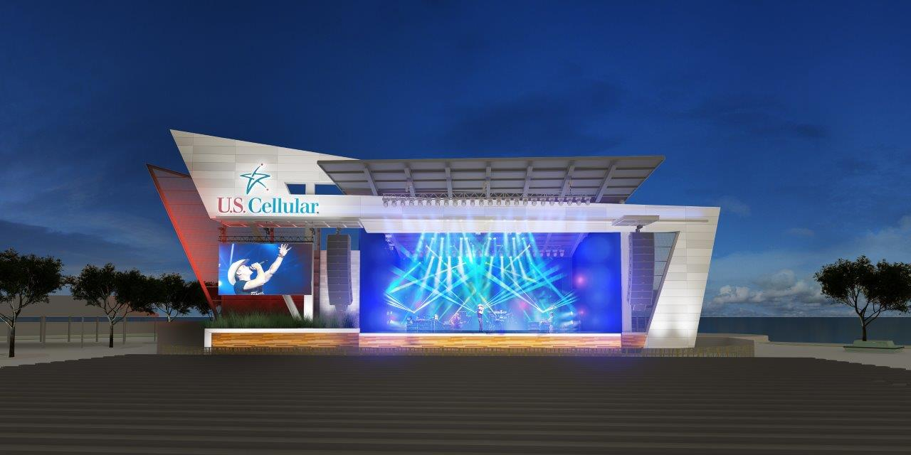 U.S. Cellular and Milwaukee World Festival, Inc. Sign New 10-Year Deal that Includes Building a Redesigned U.S. Cellular Connection Stage in 2018