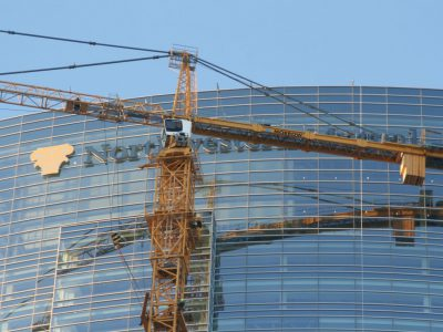 Friday Photos: Northwestern Mutual Writes Name in Sky