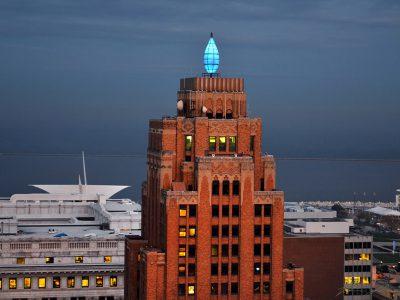 Historic Gas Light Building Debuts NEW Lighting!